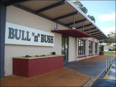 Bull �N� Bush Hotel Motel Logo and Images