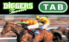 Diggers Tavern & Motel Logo and Images