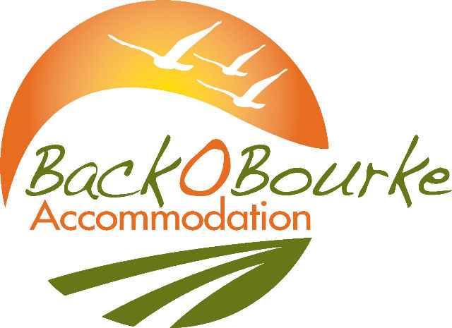 Back O' Bourke Accommodation Logo and Images