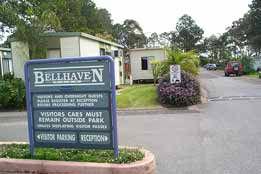 Bellhaven Caravan Park Logo and Images
