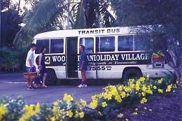 BIG4 Townsville Woodlands Holiday Park Logo and Images