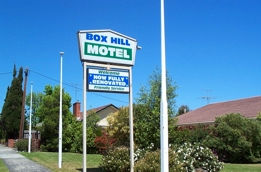 Box Hill Motel Logo and Images