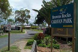 Browns Rocks Caravan Park Logo and Images
