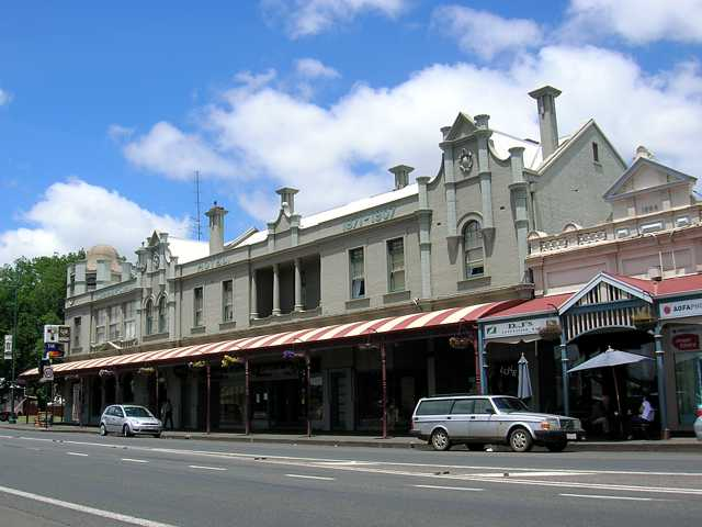 Commercial Hotel Camperdown Logo and Images