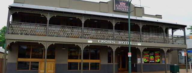 Crown Hotel Motel Logo and Images