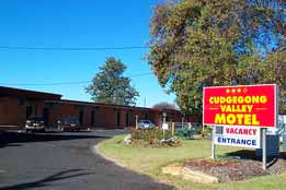 Cudgegong Valley Motel Logo and Images