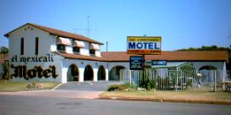 El Mexicali Motel Logo and Images