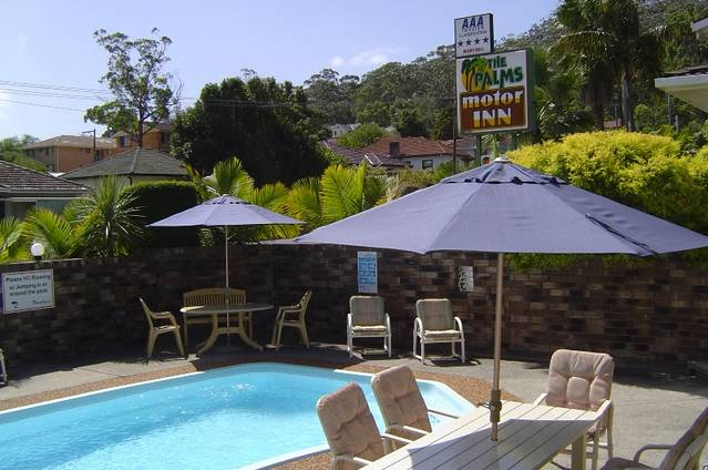 Gosford Palms Motor Inn Logo and Images