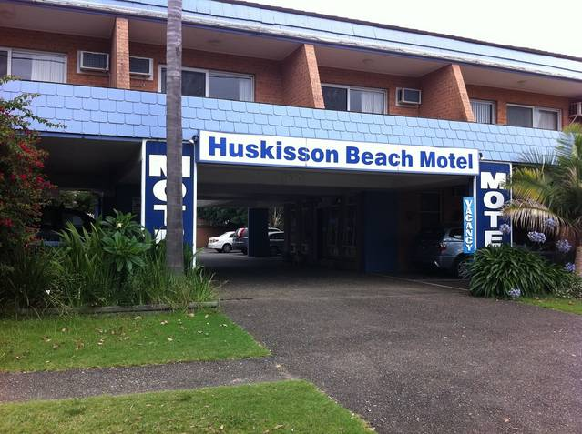 Huskisson Beach Motel Logo and Images
