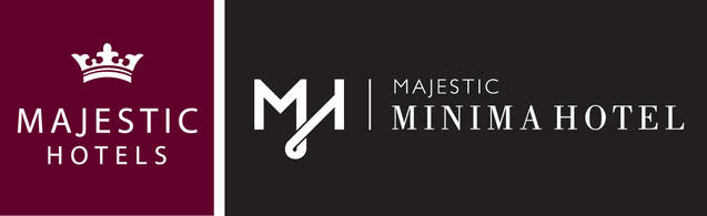 Majestic Minima Hotel Logo and Images