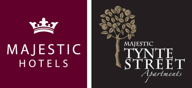 Majestic Tynte Street Apartments Logo and Images