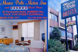 Marco Polo Motor Inn - Sydney, Summer Hill Logo and Images