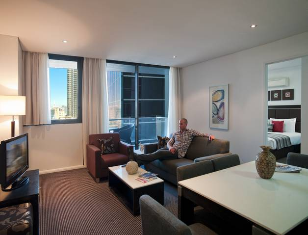 Meriton Serviced Apartments - Campbell Street Logo and Images