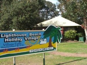 Lighthouse Beach Holiday Village Logo and Images