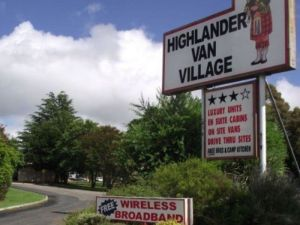 Highlander Van Village Logo and Images