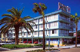 Mid Pacific Motel Logo and Images