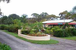 Mollymook Caravan Park Logo and Images