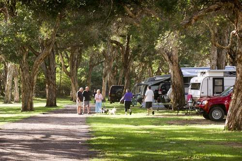 North Coast Holiday Parks Beachfront Logo and Images