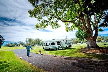 North Coast Holiday Parks Coffs Harbour Logo and Images