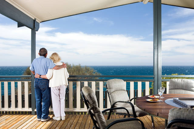 NRMA Merimbula Beach Holiday Park Logo and Images