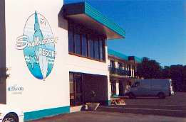 Shellharbour Resort Logo and Images