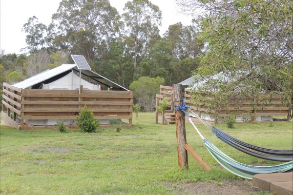 Childers Eco-lodge Logo and Images