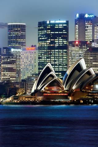 Sydney Harbour Marriott Hotel Logo and Images