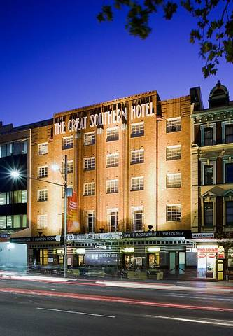The Great Southern Hotel Sydney Logo and Images