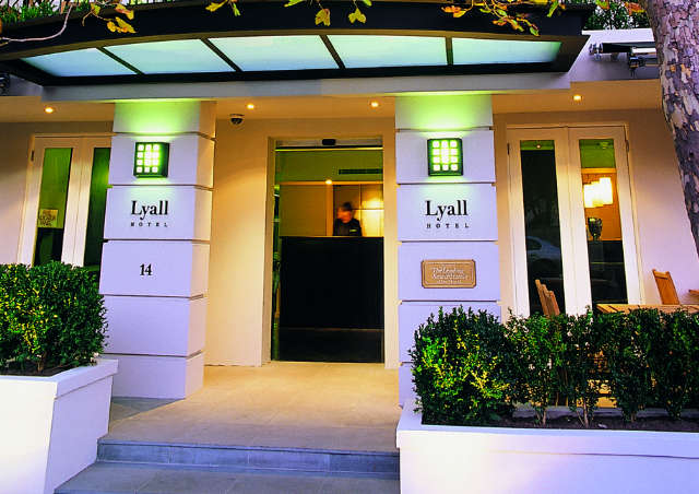 The Lyall Hotel and Spa Logo and Images