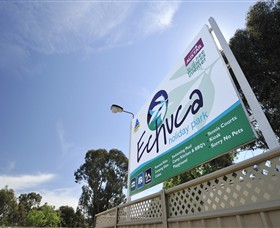 Echuca Holiday Park Logo and Images