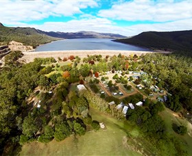 Glamping in the Grampians - Halls Gap Lakeside Tourist Park Image