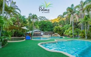 The Palms at Avoca Logo and Images