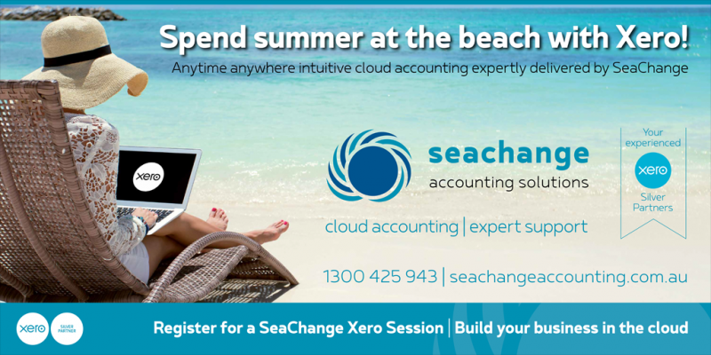 SeaChange Accounting Solutions Logo and Images