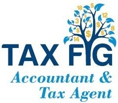 TAX FIG Logo and Images