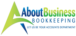 About Business Bookkeeping Logo and Images