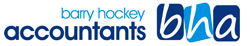 Barry Hockey Accountants Logo and Images