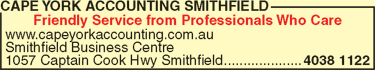 Cape York Accounting Smithfield