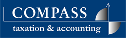 Compass Taxation & Accounting Logo and Images