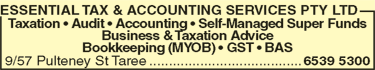 Essential Tax & Accounting Services Pty Ltd