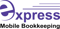 Express Mobile Bookkeeping Singleton Logo and Images
