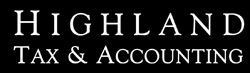 Highland Tax & Accounting Logo and Images