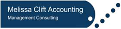 Melissa Clift Accounting Logo and Images
