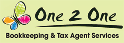 One 2 One Bookkeeping & Tax Agent Services Logo and Images
