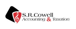 S.R. Cowell Accounting & Taxation Logo and Images