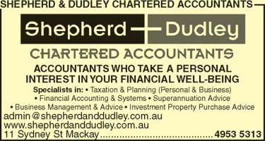 Shepherd & Dudley Chartered Accountants