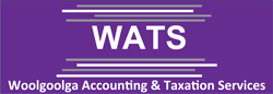 Woolgoolga Accounting & Taxation Services Logo and Images
