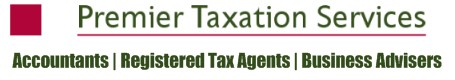 Premier Taxation Services Logo and Images