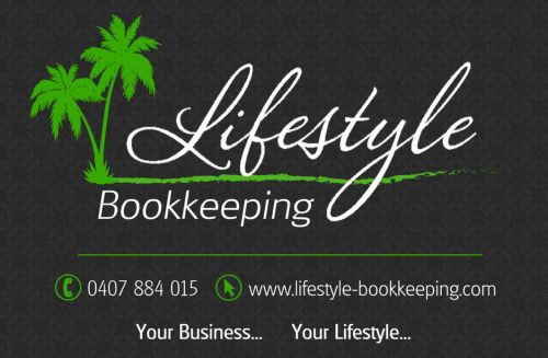 Lifestyle Bookkeeping Logo and Images