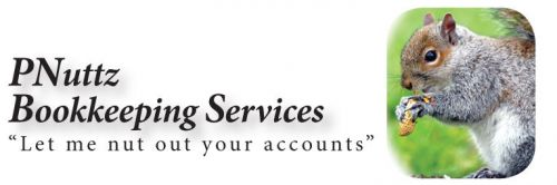 PNuttz Bookkeeping Services Logo and Images