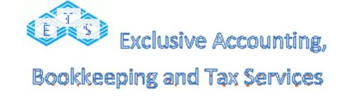 Exclusive Accounting, Bookkeeping and Tax Services Logo and Images